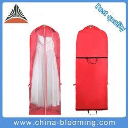 方法Non-Woven折られたスーツカバー花嫁の衣服のウェディングドレス袋