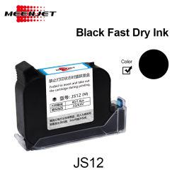 Vorlage importierte schnelles trockenes Wasser-zahlungsfähige schwarze Tinten-Farben-Tinten-Kassette für Tintenstrahl-Drucker