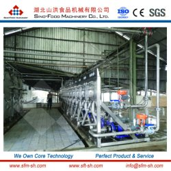 La Chine meilleur équipement de traitement d'amidon de manioc