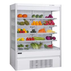 Frucht-Gemüse-Getränkebildschirmanzeige-geöffneter Kühlraum-Schaukasten für Supermarkt-Gaststätte