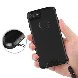 투명한 단단한 플라스틱 후면 플레이트 연약한 TPU 젤 iPhone x를 위한 풍부한 명확한 전화 상자