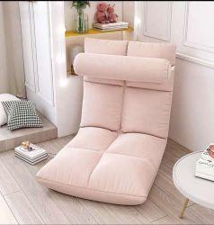Europa y Estados Unidos Portable Outdoor Indoor Sofá suelo de tejidos de colores silla plegable