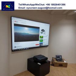 L'écran xy 100 pouces Alr ultra court jeter la lumière du jour de l'écran de projection 4K pour la vente de Home Cinéma
