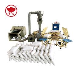 Ammortizzatore automatico del cuscino della fibra che farcisce la macchina di rifornimento