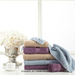 Commerce de gros hôtel Five-Star coton Serviette de bain, serviette Jacquard, serviette de bain