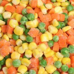 IQF 冷凍野菜混合ブレンドカリフォルニアスタイル