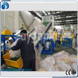 Macchina di riciclaggio di plastica residua per il film di materia plastica, sacchetti enormi, cestino
