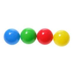 مرح ملون الكرة البلاستيكية مقاومة
