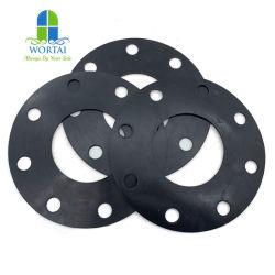 La Empaquetadura de anillo de goma negra para el cierre de la bomba de hormigón y la brida la junta de goma