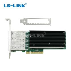Pcie X8 Quad Port SFP+ adaptateur réseau du serveur de 10 Gbit/s carte LAN NIC (basé sur Intel XL710)