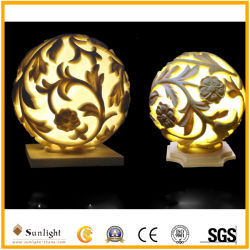 LED 램프 사암 Polyresin 옥외 방수 기술