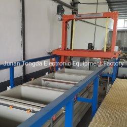Rack automático de la planta de depósito de chapado de Químicos de galvanoplastia Niquelado la máquina