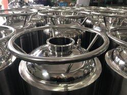 Recipiente de recolha de aço inoxidável para equipamentos de extração