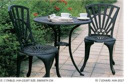En plein air en aluminium moulé Teatable Garden Hotel Table bistro