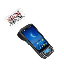 산업용 핸드헬드 PDA 바코드 스캐너 Android RFID 리더 산업용 물류 배송 직원