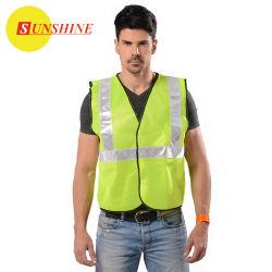 Weerspiegelend Vest voor de Veiligheid van de Rijweg