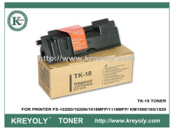 خرطوشة الحبر TK-18 لطابعة Kyocera-Mita FS-1020D/1020N/1018MFP1118MFP