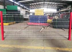 Recubierto de PVC de seguridad Euro empalizada/Panel de valla valla de seguridad/valla de malla de alambre/valla de alambre soldado/acero/Valla valla metálica