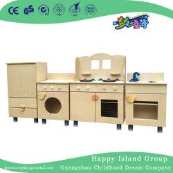 Детский сад деревянные многоуровневой системной платы в сочетании кабинета для продажи (HJ-5501)