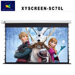 Commerce de gros de l'écran xy Sc70L écran électrique de projection motorisés pour projecteur Home Cinéma HD/Business /l'enseignement