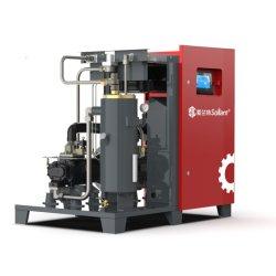 Haute qualité 7.5-37 Pm VSD Kw Oilless entraîné directement silencieux compresseur à air rotatif à vis pour usage industriel (ISO&CE)