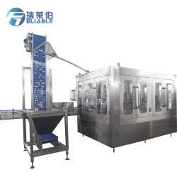 200-2000rotatif complet ml Plastique Bouteille de jus d'Orange de machines de remplissage