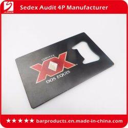 Cartão de crédito de marca personalizada a tampa do vaso de acessórios da barra do Sulcador