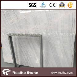 Nuovo marmo di legno bianco della vena per la parte superiore del tavolino da salotto