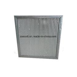 Châssis en acier inoxydable Deep pli utiliser pour le filtre à air industriels