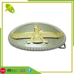 La hebilla del cinturón ligero Nombre personalizado Carta de las piezas de la correa de hebilla de Cobra (046)