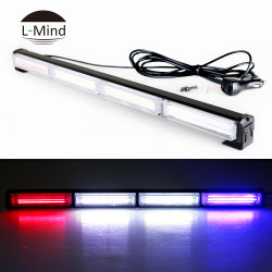 Commerce de gros cris 80W Voiture de police des feux de détresse orange LED Strobe Light Bar
