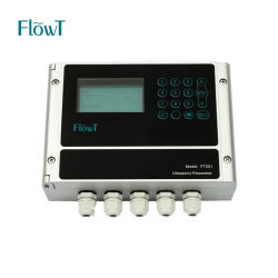 Alicate Transit-Time medição de água ultra-sons do Fluxômetro