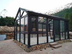 En el exterior del tubo cuadrado de aluminio y tubo redondo columna puede ser personalizado con varios de grano de madera de pulverización