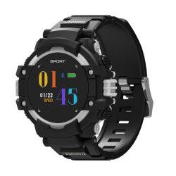 F7 GPS Smartwatch Man цветной ЖК-дисплей частота сердечных сокращений в режиме реального времени Weater альтиметра УФ монитор Большой аккумулятор IP67 компас измерение температуры окружающего воздуха для использования вне помещений фитнес спорта