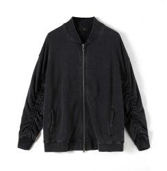 La parte superior con cremallera Double-Sleeved chaquetas para hombre