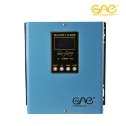 محول ذو تردد منخفض بقدرة 1200 واط/24 فولت بقدرة 220 فولت بقدرة 1.2 كيلو واط، محول هجينة مع وحدة التحكم في شاحن الطاقة الشمسية PWM بقدرة 30 أمبير