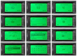 Bluetooth téléphone de bureau avec SMS FM ID appelant Transfert d'appel de fonction personnalisée