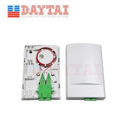Caixa de Distribuição de fibra óptica 2 Tomada de fibra óptica de porta