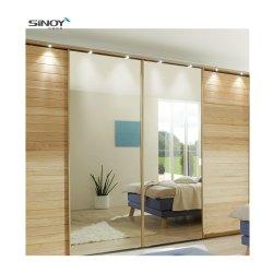 Gran Círculo moderno de lujo en forma de espejo para uso interior