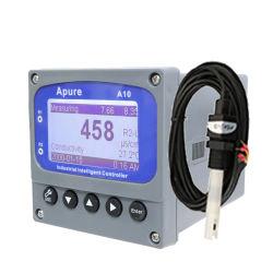 PH en línea del controlador de TDS Ec Medidor de conductividad eléctrica digital con sensor