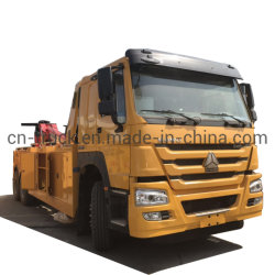 Sino HOWO 6X4 20t 25t recuperando rebocar o veículo de reboque