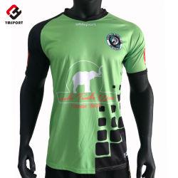 Vêtements de football personnalisés Sublimation maillots de football soccer T Shirt
