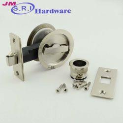 Casa de banho Wc Hardware Porta Acessórios de montagem segura da cavidade da fechadura de porta corrediça