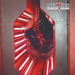 Sistema de queimadores de gás de infravermelhos