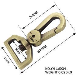 Gancho de metal personalizados Hardware bolso