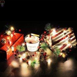 Светодиодный светильник String Pinecone волшебная лампа Рождество String лампа