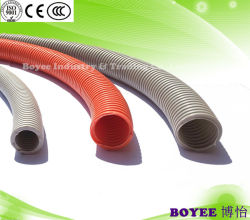 Cable flexible de plástico corrugado de PVC Conduit