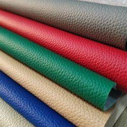 يغطي الجلد المحبب من مادة PVC لمقعد السيارة الجلد عالي الجودة أثاث الأريكة جلد جلد جلد تنافسي السعر جلد فاخر
