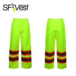 2020 Sfvest calças reflexivo Segurança alta visibilidade de chuva para homens