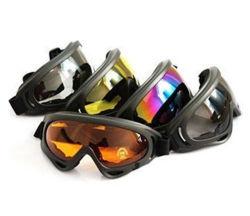 5 Glazen van de Motorfiets van de Bescherming van X400 van de Beschermende brillen Airsoft van de Jacht van kleuren de Tactische